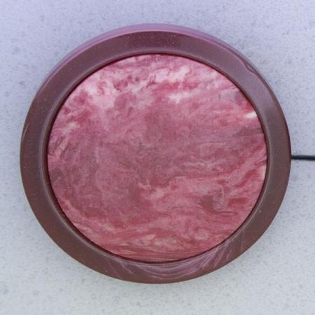 Ref000345 Botón Redondo en colores burdeos y  rosa