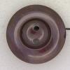 Ref000346 Botón Redondo en colores morado y  marron y  burdeo y  lila