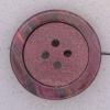Ref000347 Botón Redondo en colores burdeos y  morado y  negro
