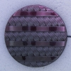 Ref000354 Botón Redondo en colores morado y  lila y  negro