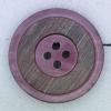 Ref000355 Botón Redondo en colores morado y  lila