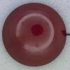 Ref000363 Botón Redondo en colores burdeos y  rojo