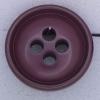 Ref000373 Botón Redondo en color burdeos