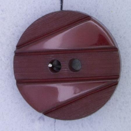 Ref000375 Botón Redondo en color burdeos