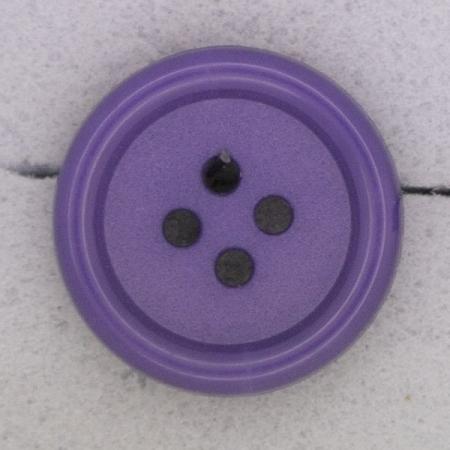 Ref000378 Botón Redondo en colores morado y  lila