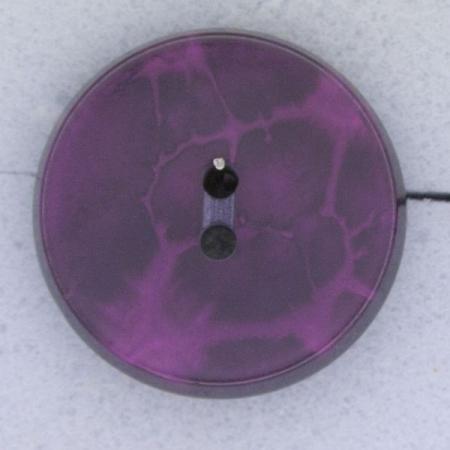 Ref000382 Botón Redondo en colores morado y  fucsia
