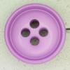 Ref000402 Botón Redondo en colores lila y  morado