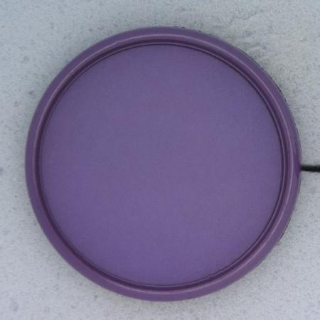 Ref000405 Botón Redondo en colores morado y  lila