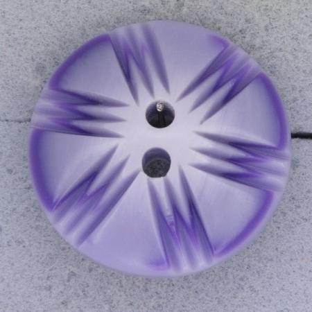 Ref000418 Botón Redondo en colores lila y  morado