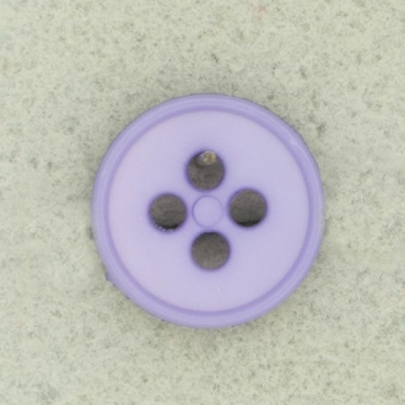 Ref000425 Botón Redondo en color lila