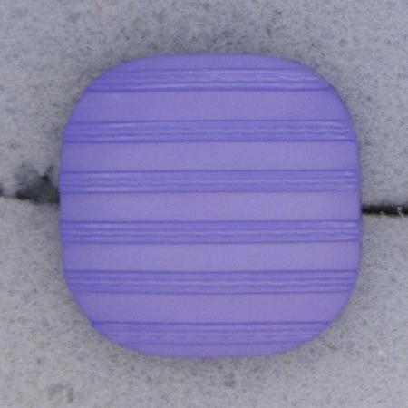 Ref000439 Botón Cuadrado en colores lila y  morado y  celeste