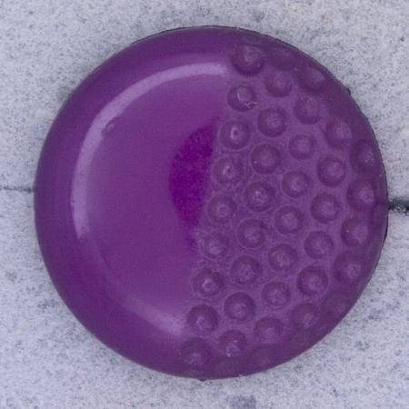 Ref000446 Botón Redondo en colores fucsia y  morado