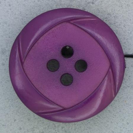 Ref000452 Botón Redondo en colores fucsia y  morado