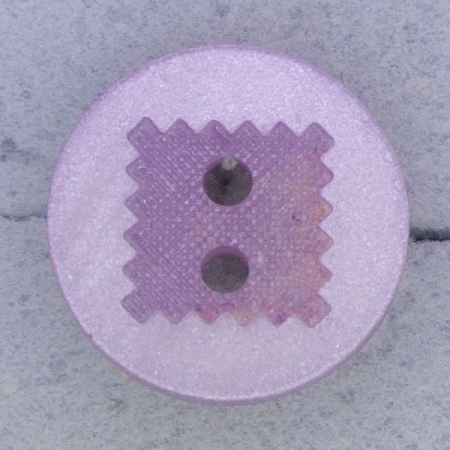 Ref000460 Botón Redondo en color lila