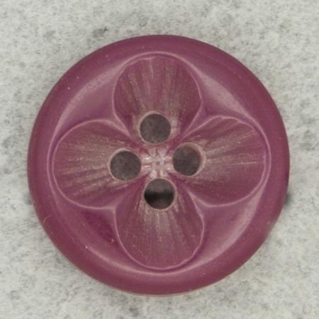 Ref000475 Botón Cuadrado en color negro