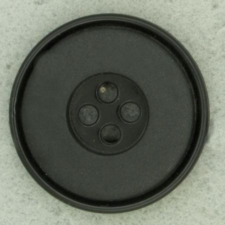Ref000477 Botón Redondo en color negro