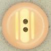 Ref000484 Botón Redondo en colores salmón y  beige