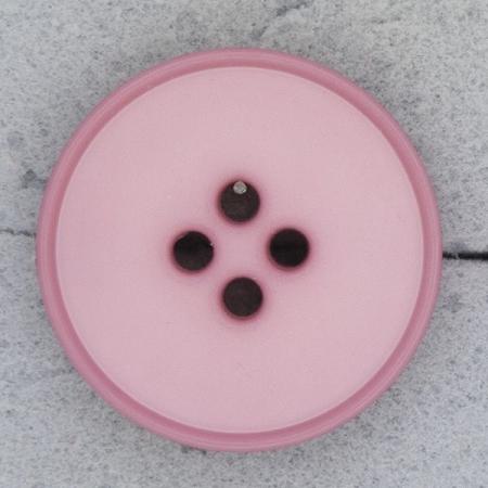 Ref000486 Botón Redondo en color rosa