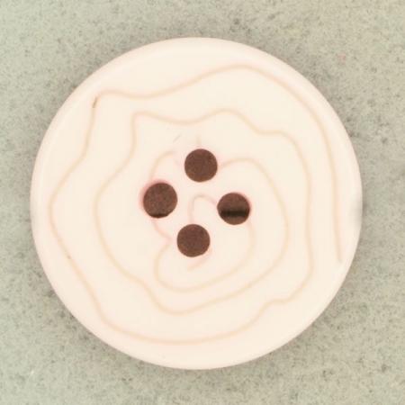Ref000487 Botón Redondo en color rosa