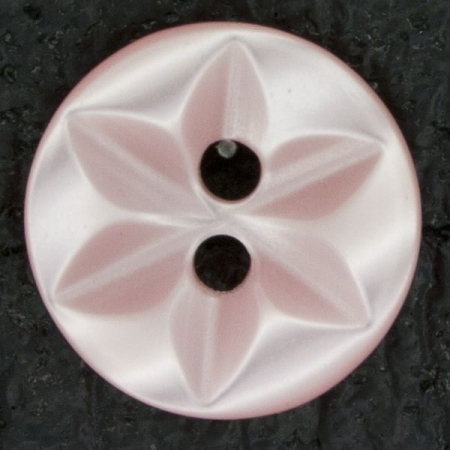 Ref000502 Botón Redondo en color rosa