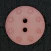 Ref000504 Botón Redondo en colores rosa y  salmon
