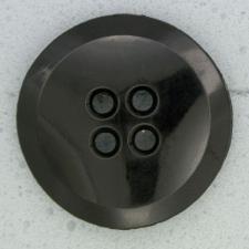Ref000042 Botón Redondo en color negro