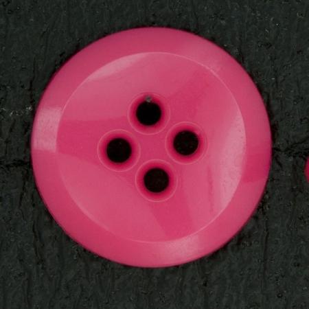 Ref000530 Botón Redondo en colores rosa y  fucsia