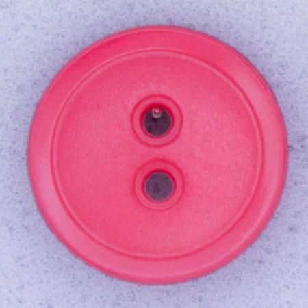 Ref000536 Botón Redondo en colores rosa y  fucsia