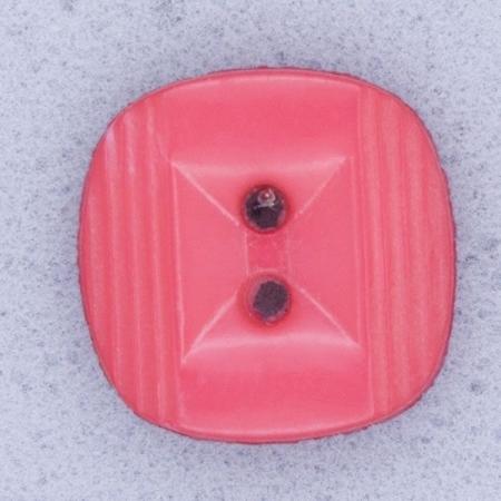 Ref000541 Botón Cuadrado en color rosa
