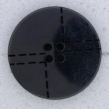 Ref000046 Botón Redondo en color negro
