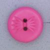Ref000547 Botón Redondo en colores rosa y  fucsia