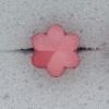 Ref000548 Botón Estrella en color rosa
