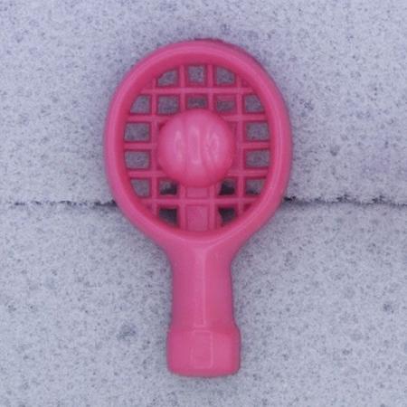 Ref000549 Botón Formas en color rosa