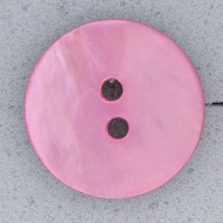 Ref000558 Botón Redondo en colores rosa y  fucsia