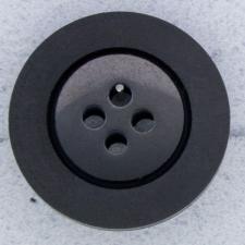 Ref000049 Botón Redondo en color negro