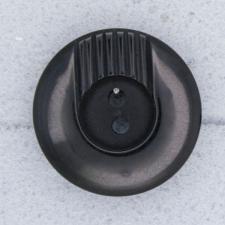 Ref000050 Botón Redondo en color negro