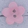 Ref000591 Botón Estrella, Flor en color rosa
