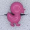 Ref000600 Botón Formas en color rosa