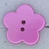 Ref000606 Botón Estrella, Flor en color rosa
