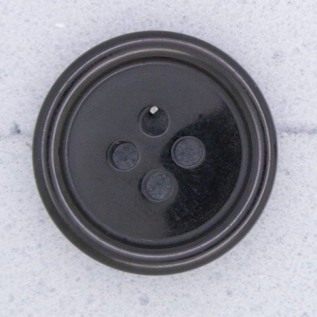 Ref000054 Botón Redondo en color negro