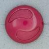 Ref000616 Botón Redondo en colores rosa y  fucsia