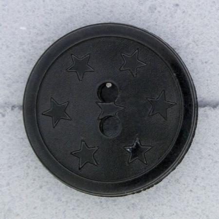 Ref000061 Botón Redondo en color negro