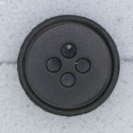 Ref000062 Botón Redondo en color negro