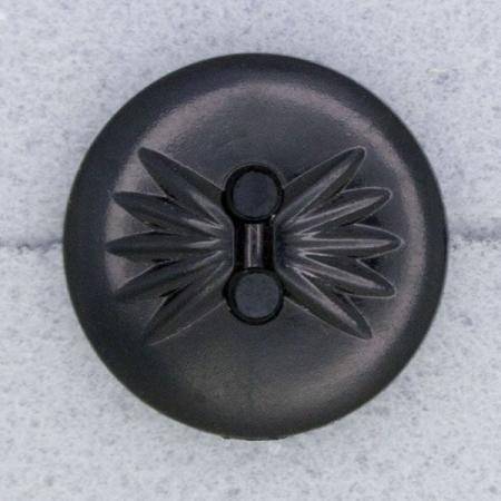 Ref000064 Botón Redondo en color negro