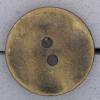 Ref000803 Botón Redondo en colores dorado y  bronce
