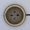 Ref000833 Botón Redondo en colores dorado y  bronce