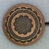Ref000871 Botón Redondo en color bronce