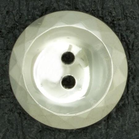 Ref000881 Botón Redondo en color plata