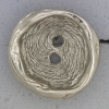 Ref000916 Botón Redondo en color plata