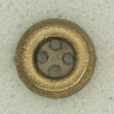 Ref000928 Botón Redondo en colores dorado y  bronce